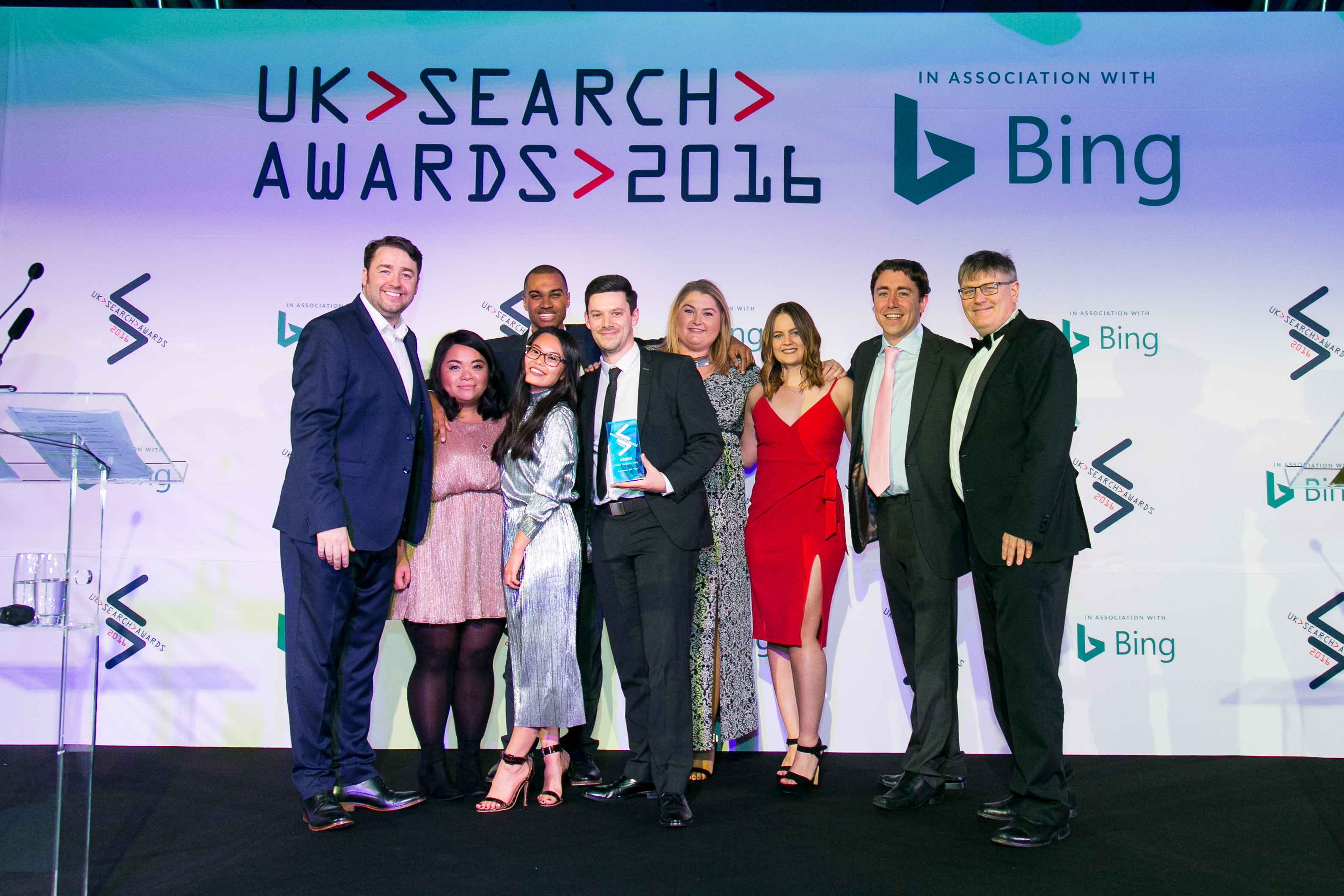 Best in House Team UK Search Awards 2016